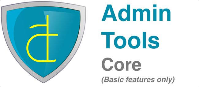 Admin Tools - For Security