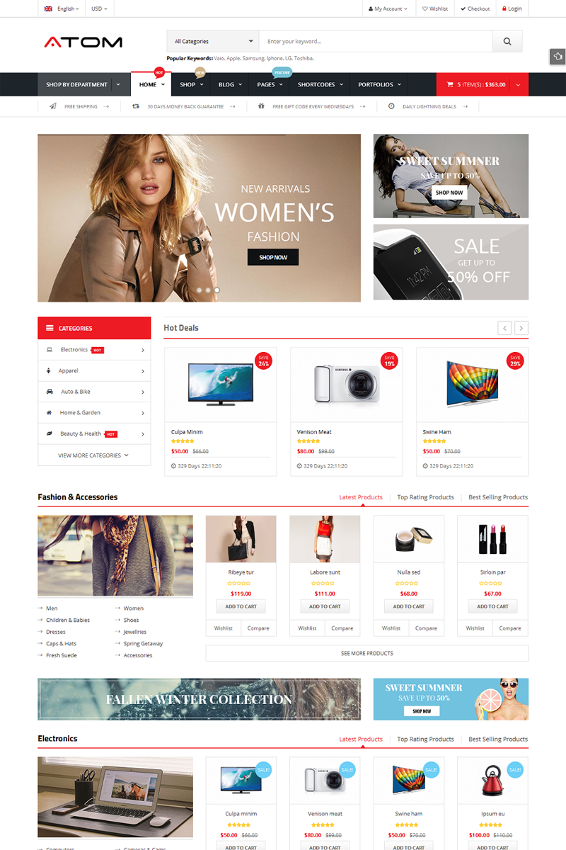 30% OFF - Premium WooCommerce Theme