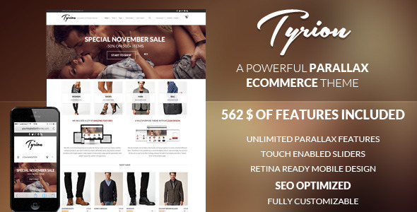 Tyrion - Top eCommerce Wordpress Theme
