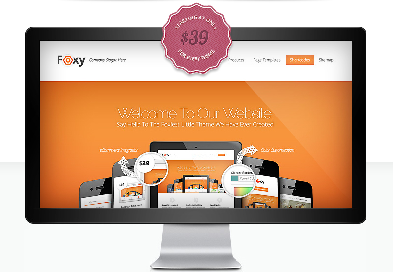 Foxy - Top eCommerce Wordpress Theme