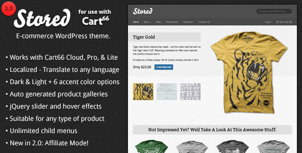 Stored - Top eCommerce Wordpress Theme