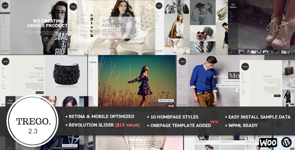 Trego - Top eCommerce Wordpress Theme