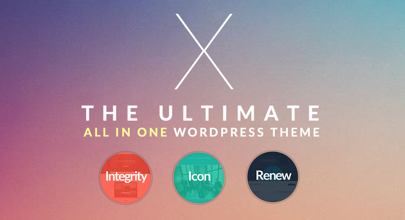 The X Theme - Top eCommerce Wordpress Theme