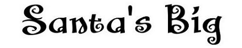 santa big secrit bb font