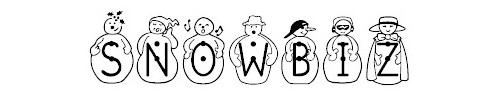 jf snowbiz font