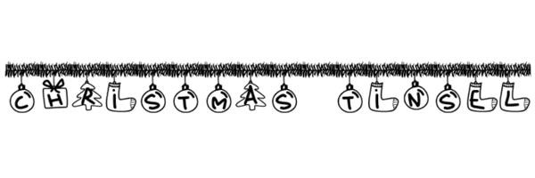 PW Christmas Tinsel