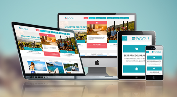 Preview SJ Decou - Travel Joomla Template