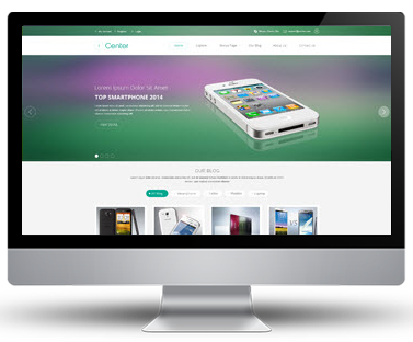 Preview SJ iCenter - Responsive Joomla Template
