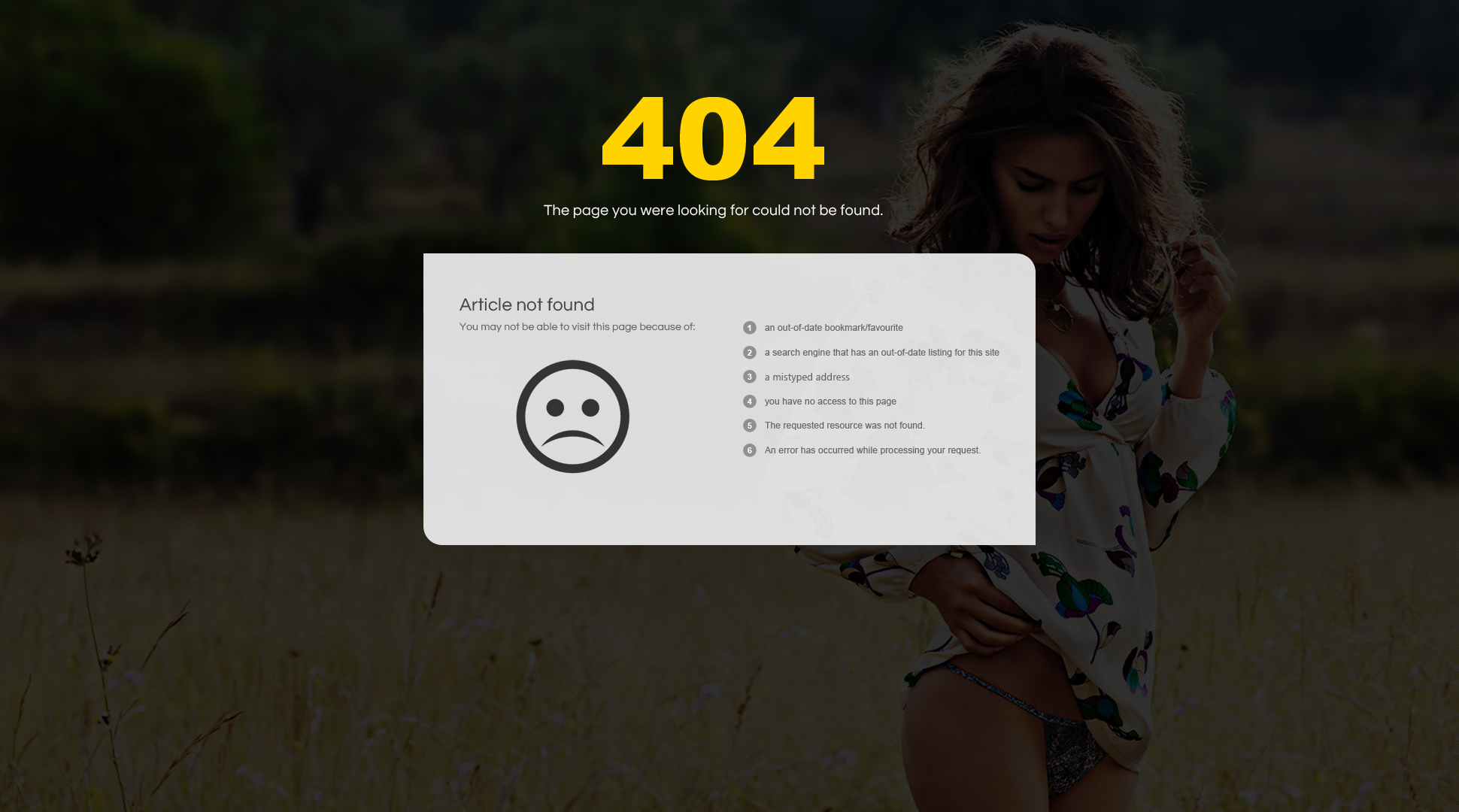 Preview SJ Atom - Joomla Fashion Template