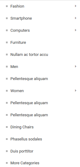 Vertical-menu