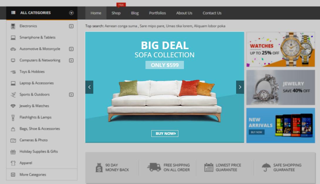 Documentation for Market – Shopping WooCommerce WordPress Theme