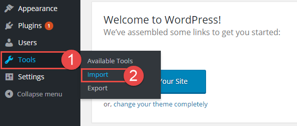 How to Import media.xml file in SW WordPress themes | SmartAddons ...