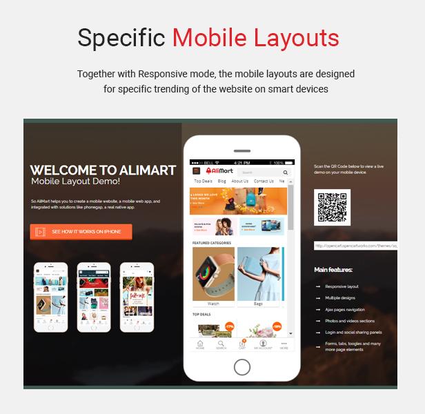 alimart - Opencart Theme