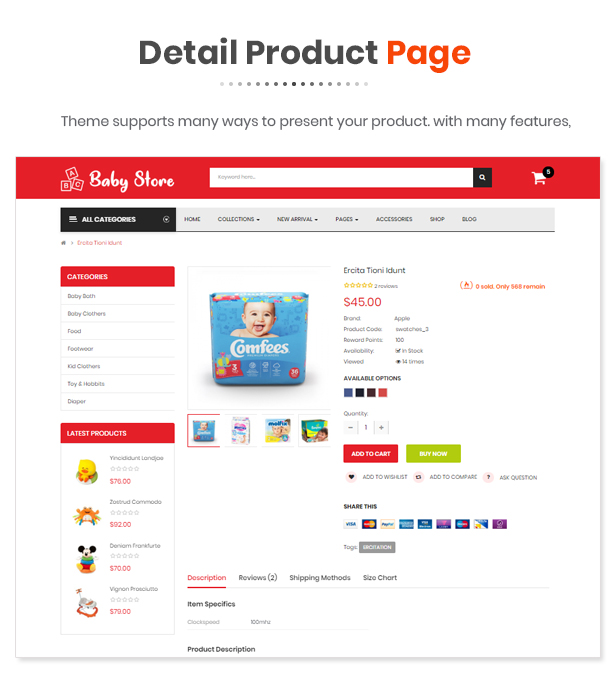Babystore - Opencart 3 Theme