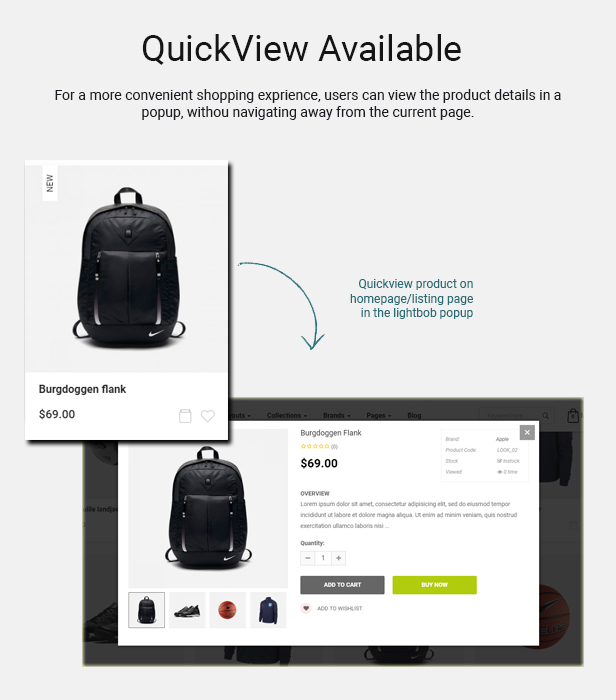 convetic - Opencart 3 Theme