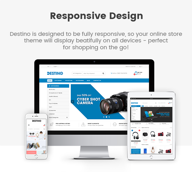 destino - Opencart Theme