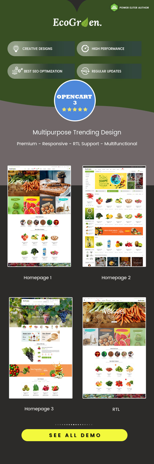 ecogreen - Opencart Theme