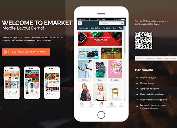 emarket - Opencart Theme