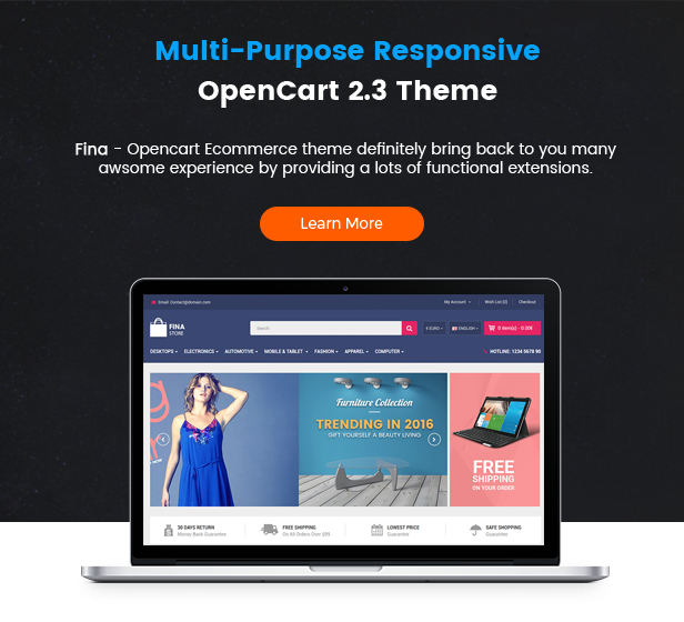 Fina - Opencart Theme