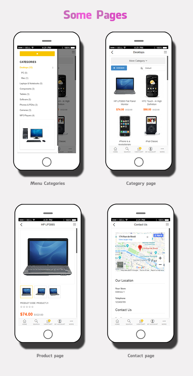 so mobile - Opencart 3 Theme