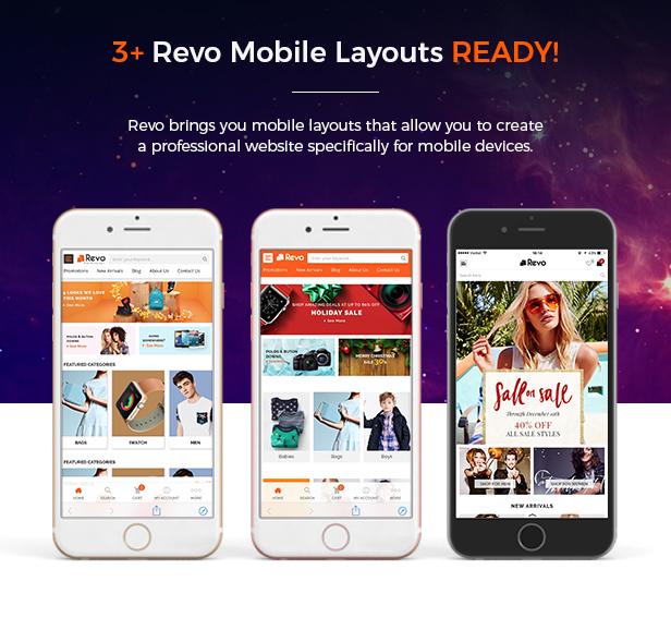 Revo - Opencart Theme