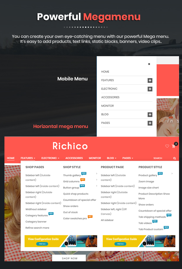 Richico - OpenCart Theme