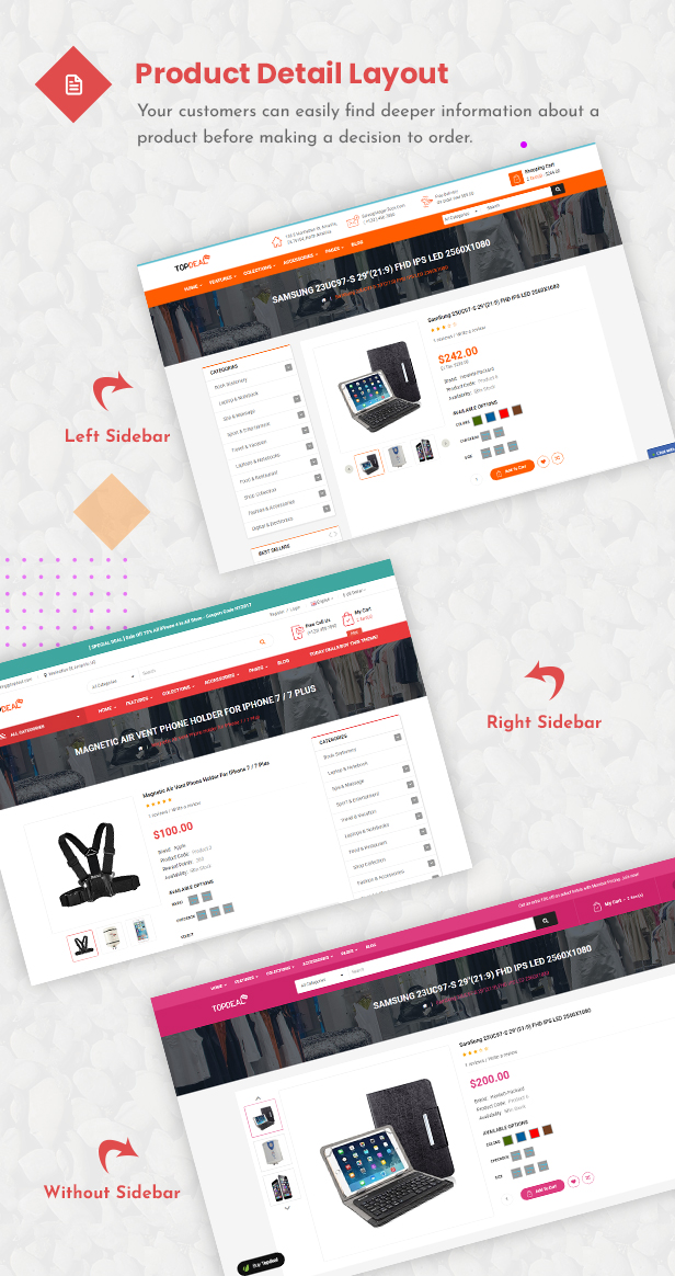 TopDeal - Opencart Theme