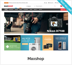 Maxshop - WooCommerce WordPress Theme