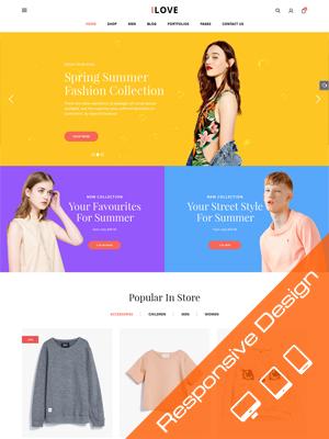 SW iLove - Creative WooCommerce WordPress Theme