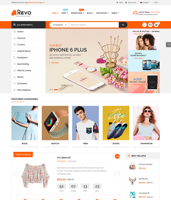 15 Best Free Premium Woocommerce Wordpress Themes 2017