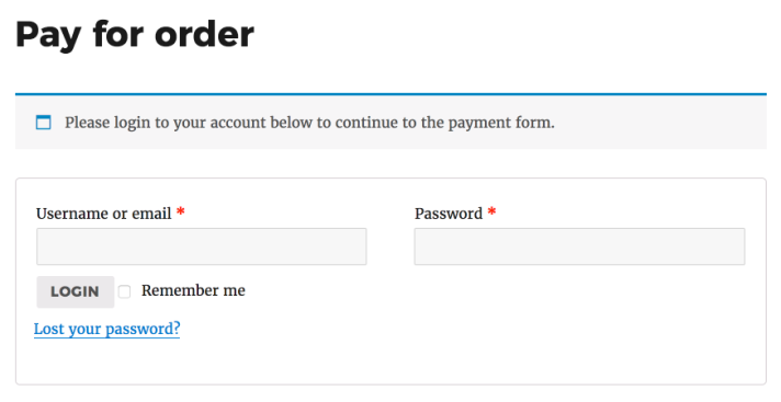 login-to-continue-payment