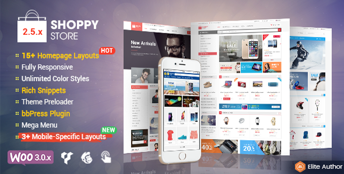 SW ShoppyStore - Best Selling WooCommerce WordPress Theme with Mobile Specifix Layouts