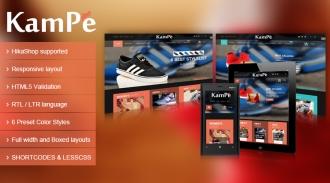 SJ Kampe - Responsive Joomla eCommerce Template