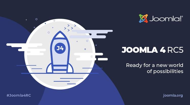Joomla 4 RC 5 and Joomla 3.10 RC 1 Release