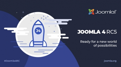 Joomla 4 RC 5 and Joomla 3.10 RC 1 Are Available