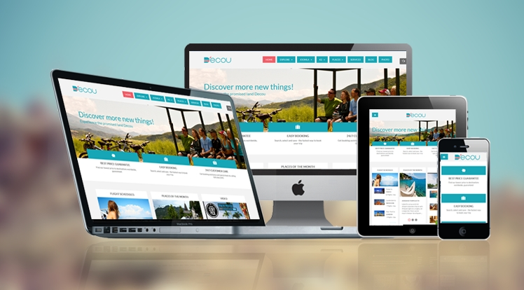 SJ Decou - Responsive Joomla Travel Template