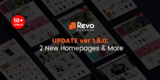 [HOT] Revo 1.6 Has Been Out with 2 New Homepages