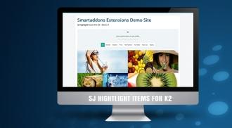 SJ Highlight Items for K2 - Responsive Joomla! Module
