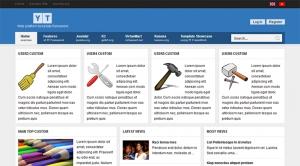 YT Framework - Web Platform Joomla Template