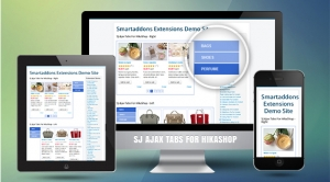 SJ Ajax Tabs for HikaShop - Joomla! Module