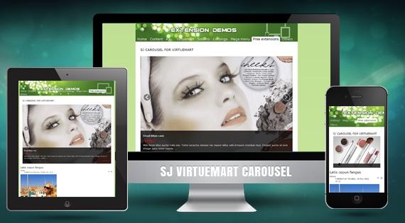 SJ VM Carousel - Free Responsive Joomla! Module