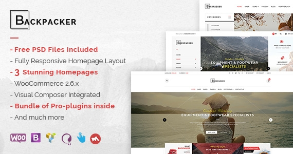 SW Backpacker - An Amazing Fashion WooCommerce WordPress Theme