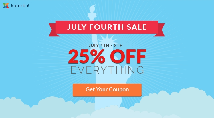 Celebrate 4th of July: 25% OFF Everything