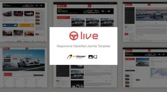 SJ Live - Responsive Joomla Classified Template