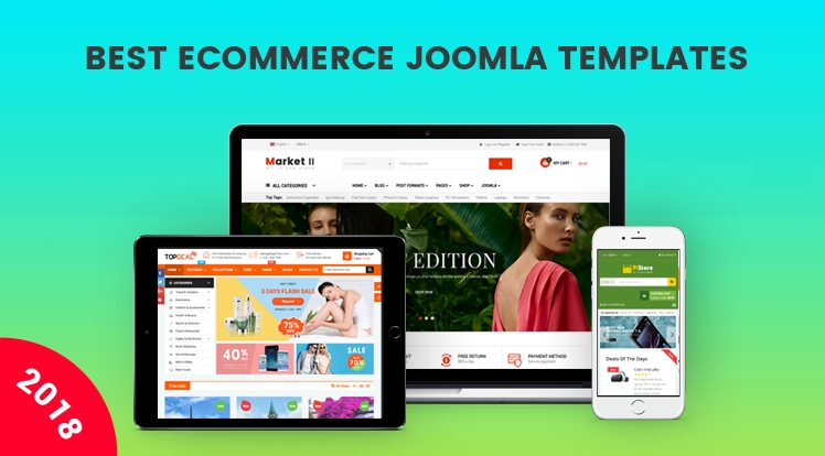 Best 10 Responsive eCommerce Joomla Templates You Must Have
