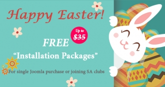 Happy Easter 2017! Get Free Exclusive Gifts from SmartAddons!