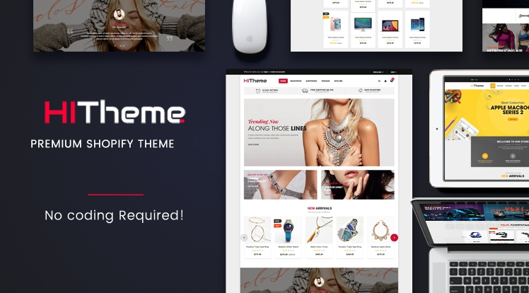 Ss HiTheme - Responsive Sectioned Bootstrap 4 Shopify Theme