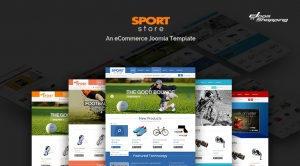 SJ Sport Store - Responsive Joomla Sport Store Template