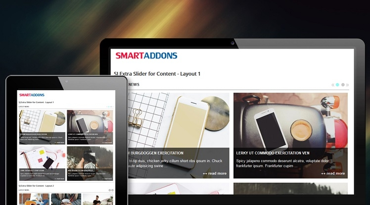 SJ Extra Slider for Content - Joomla! Module