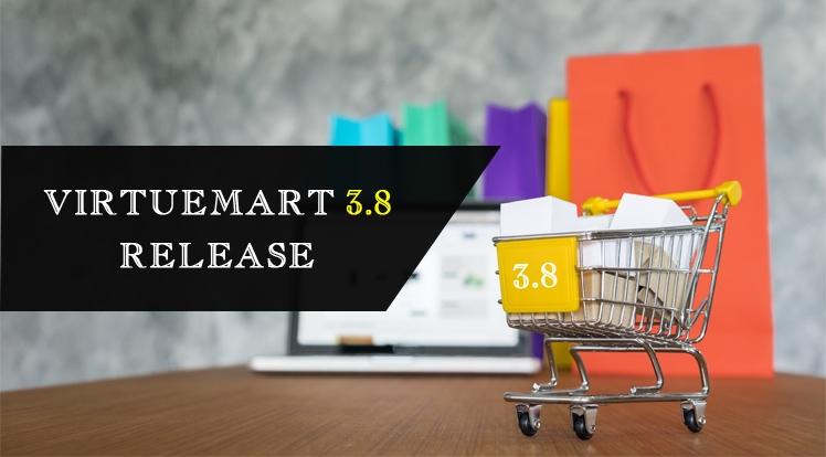 VirtueMart 3.8 Release